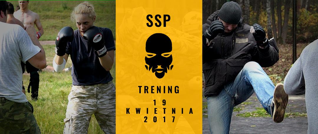 Kwietniowy trening w plenerze dla członków SSP