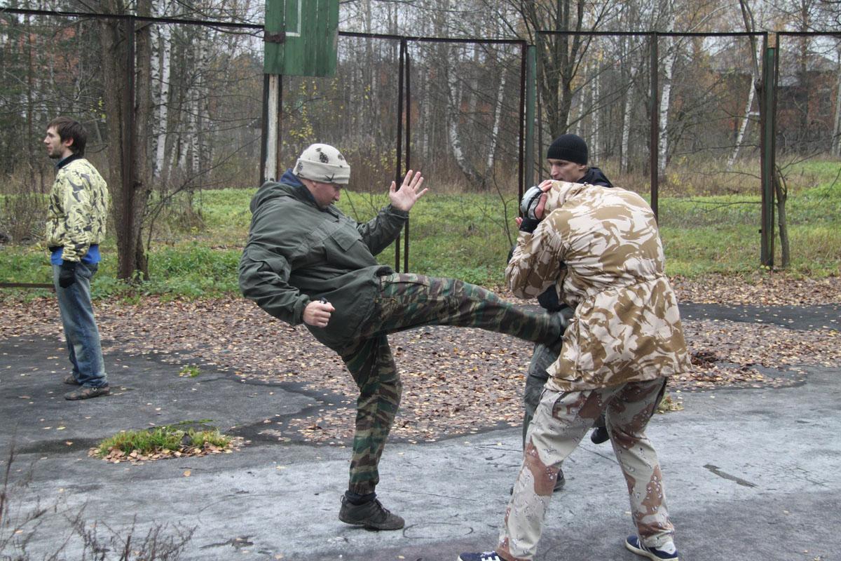 Trening sztuk walk Warszawa - trening samoobrony